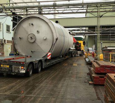 Crane Storage Vessel